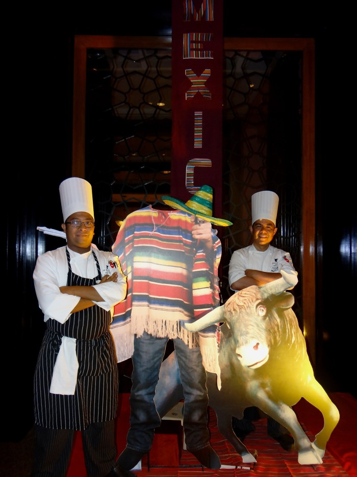 Chef Guadalupe Monterroza and Chef Narciso Alcazar in a Mexican Food Festival at the Lake View Café, Renaissance Mumbai Convention Centre Hotel (Powai-Mumbai)