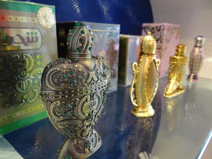 Perfume range by Arabian Nights