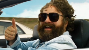 Alan in his opening scene - Hangover III
