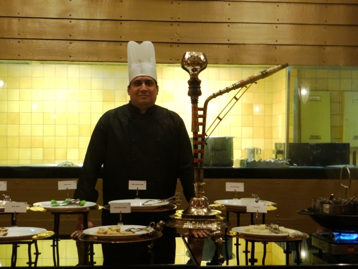 Chef Rehman at Nawab Saheb