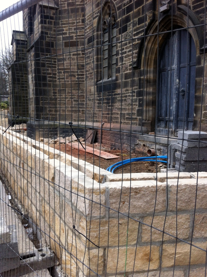 The work at Starbeck church for which Samuel has raised his concerns