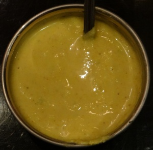 The hot yellow chutney