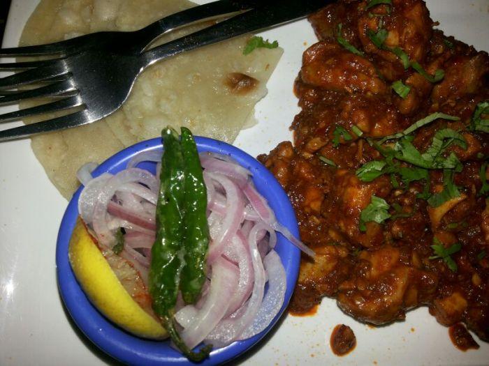 Kolhapuri Chicken Sukha