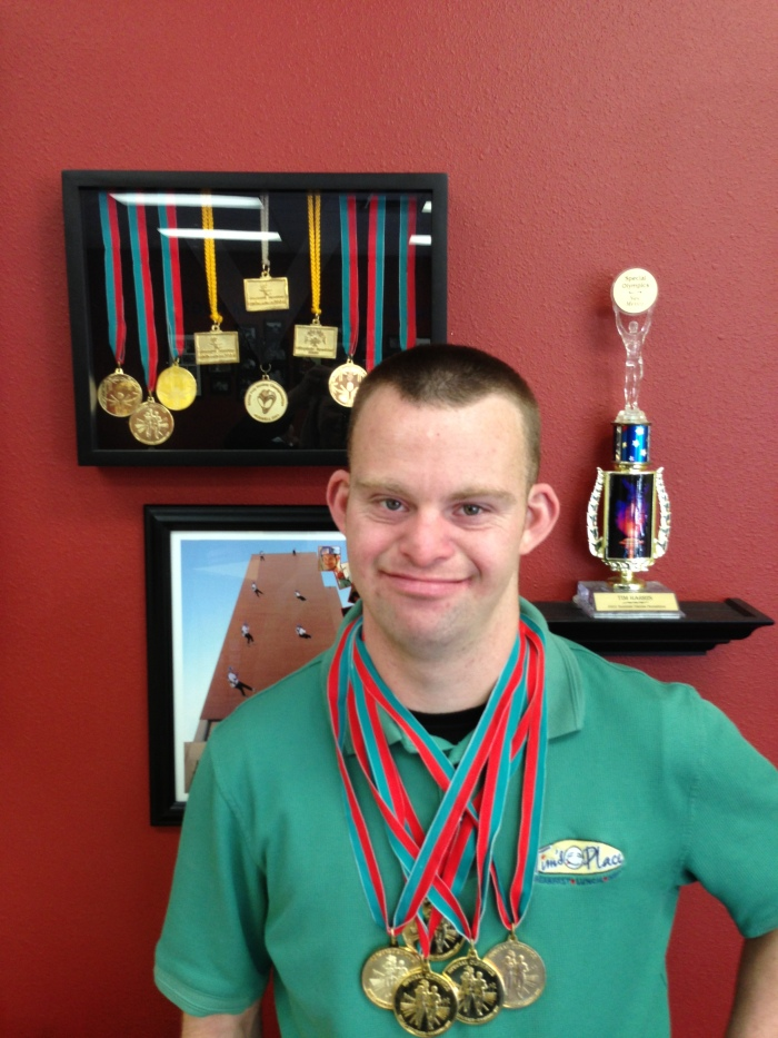 Tim Harris- A Special Olympics Athlete & Global Messenger