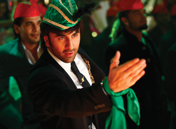 Ranbir in a song dance sequence