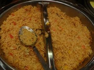 Spicy Malaysian rice