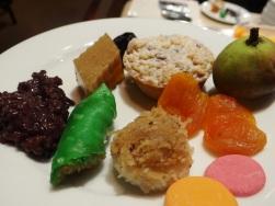 Our dessert platter ;)