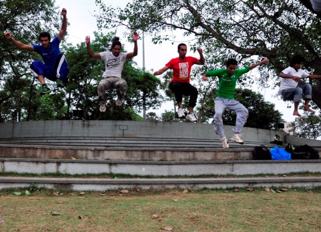 Parkour in India