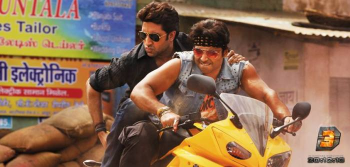 Abhishek Bachchan and Uday Chopra