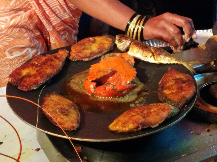 Fish Tava Fry at the Versova Koli Seafood Festival
