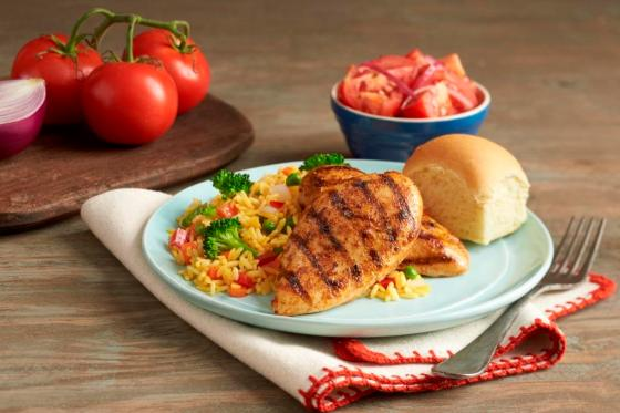 Chicken Breast Value Meal at Pollo Tropical