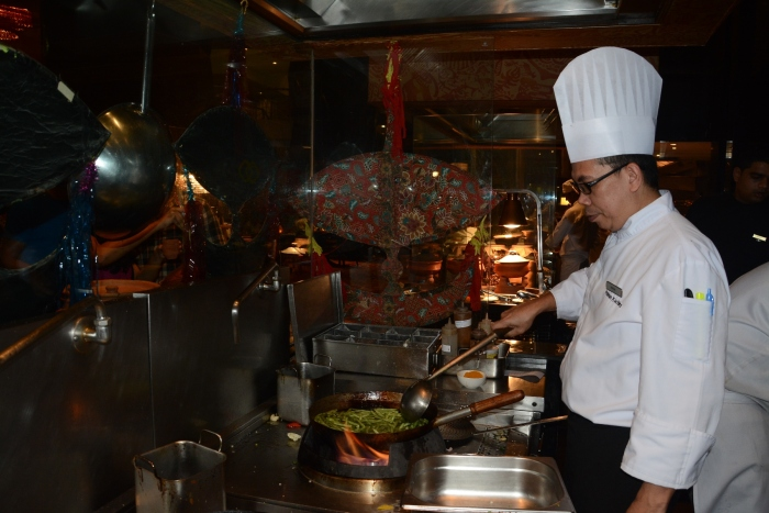 Chef Haron Bin Dan whips up the Malaysian Magic at the Sofitel Mumbai BKC