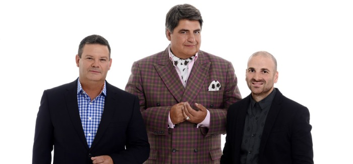 MasterChef Australia  judges chefs George Calombaris and Gary Mehigan and food critic Matt Preston