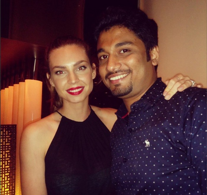Me with the gorgeous Sarah Todd