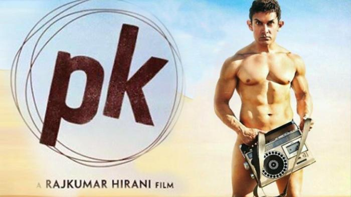 The controversial PK movie poster