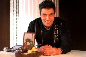 Chef Ranveer Brar, the youngest Executive Chef in India at 25