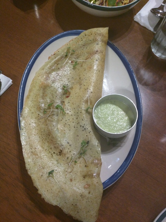 Brown Butter & Green Chilli Dosa