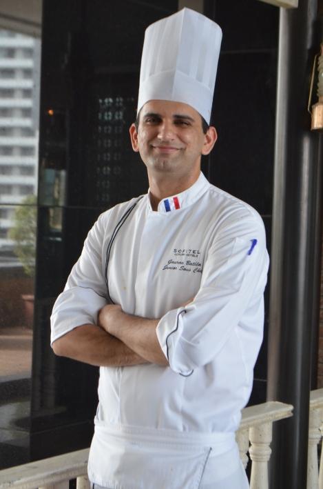 Chef Gaurav Bathla from Sofitel Mumbai BKC