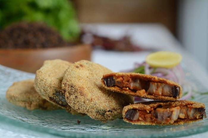 Rawa Fried Fish - Deep fried King fish coated with semolina and spices