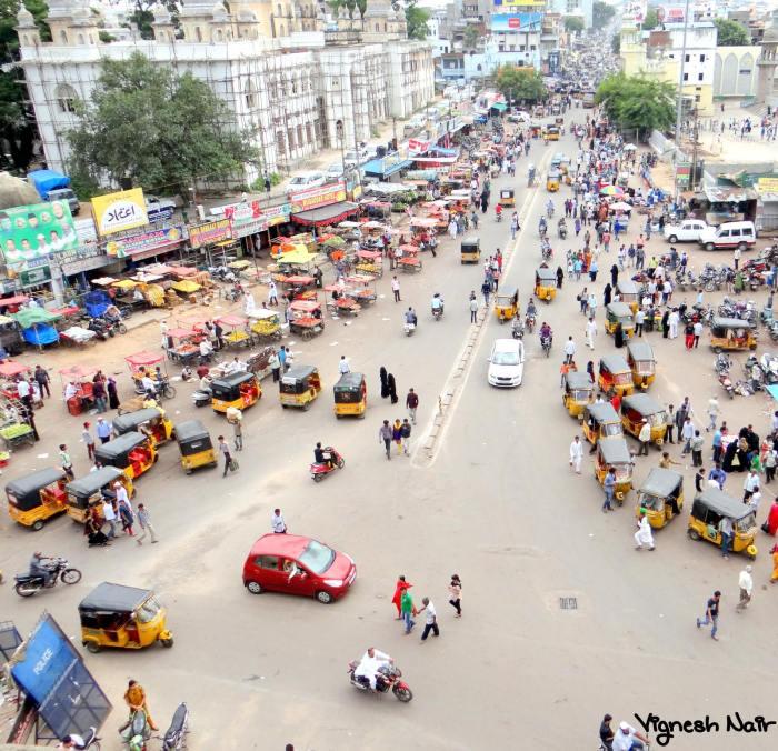 Bylanes near Charminar - Hyderabad