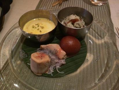 My Dessert platter - Soma Grand Hyatt