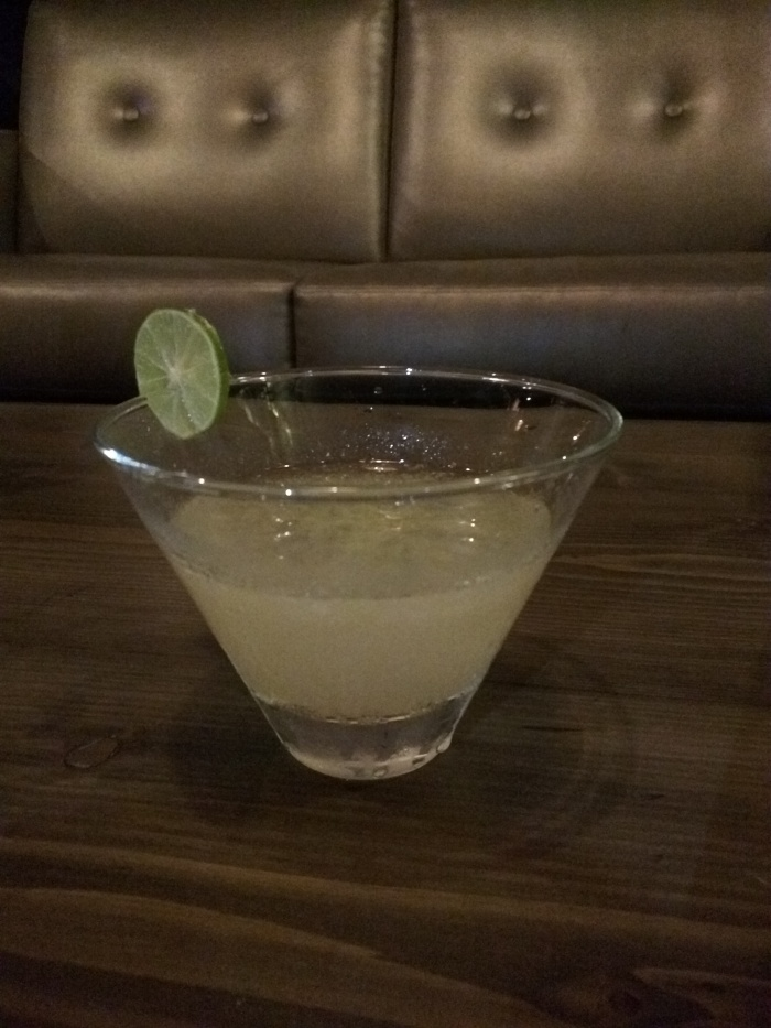 Yuzu Kosho cocktail