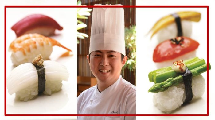 Chef Shohei Nakajami from Grand Hyatt Mumbai