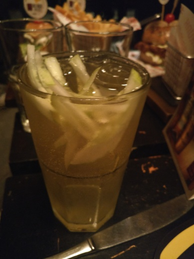 Cuber - a soothing & refreshing beer cocktail with muddled cucumber
