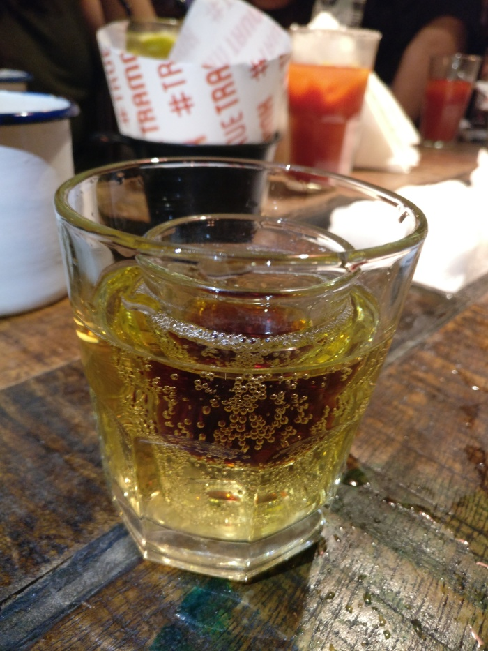 The Beer Bomb - TTT's twist to the good ol' Jagerbomb