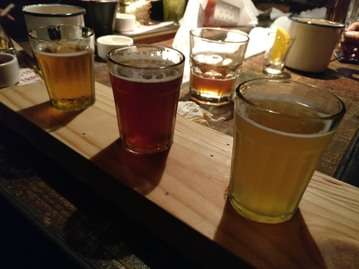 A variety of Draft & Craft Beers to choose