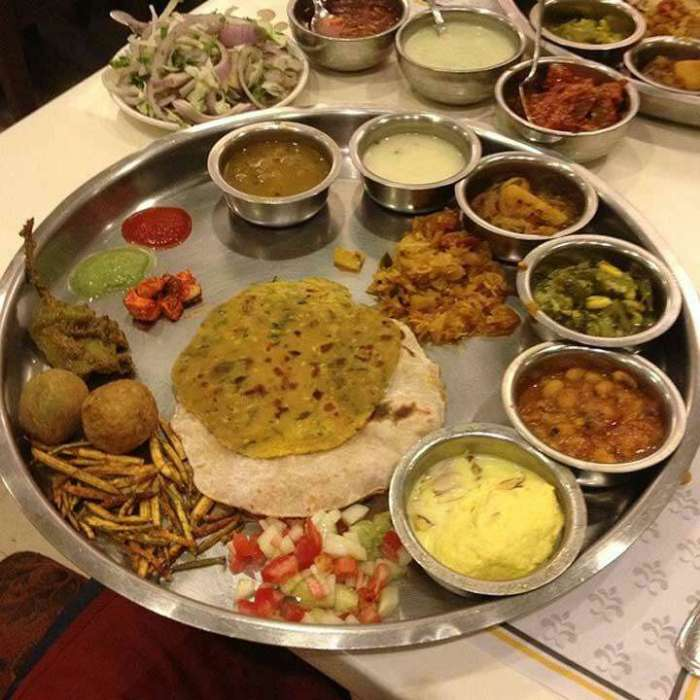 Thali at Samrat Restaurant (Photo Courtesy - Ramesh Solanki - Zomato)