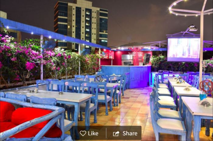 Round About Bar & Kitchen, Khar West