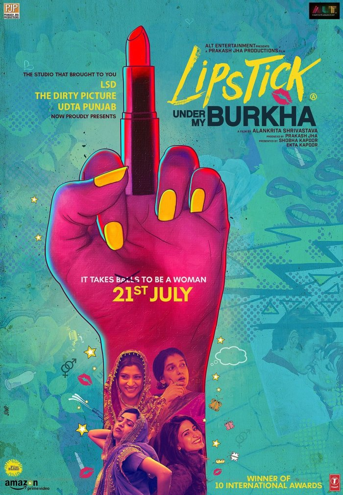Lipstick Under My Burkha - You Will Smile, But Also Not Forget To Weep, As You Relate To This Honest Drama!