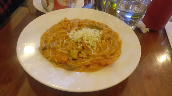 Pasta in Balle Balle Sauce at Bombay to Barcelona Library Cafe, Marol, Andheri (E)