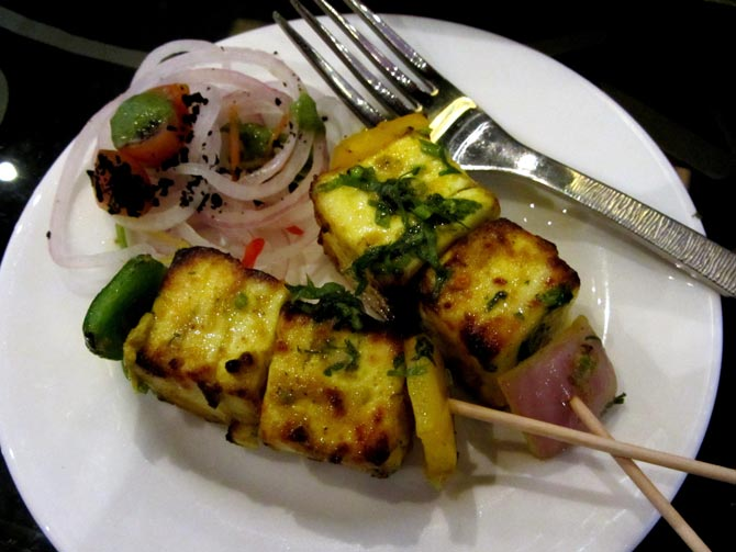 Jalapeno Paneer Tikka at The Finch, Powai