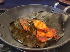 Papleta Bhajillo - Black Pomfret Fry