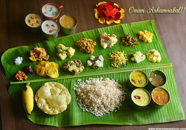 There is no Onam, without the mighty Onasadhya!